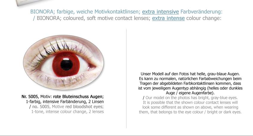 rote kontaktlinsen farbige vampir motivlinsen blutaugen. Black Bedroom Furniture Sets. Home Design Ideas