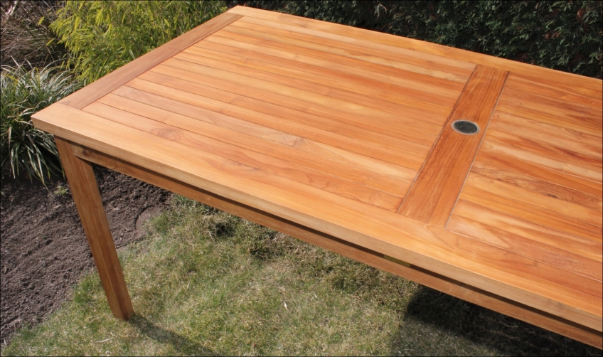 teakholz gartentisch 200cm a grade java teak holz hartholz garten tisch 1xm22 ebay. Black Bedroom Furniture Sets. Home Design Ideas