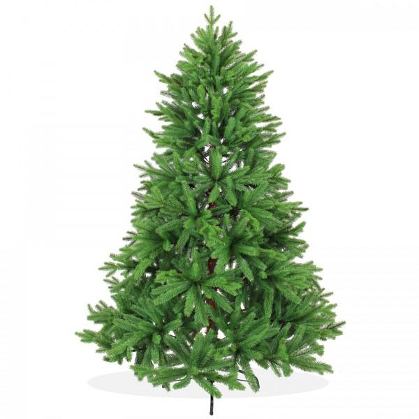 Spritzguss Weihnachtsbaum 180cm Nordmanntanne PE grüner künstlicher Premium Tannenbaum, wie echt