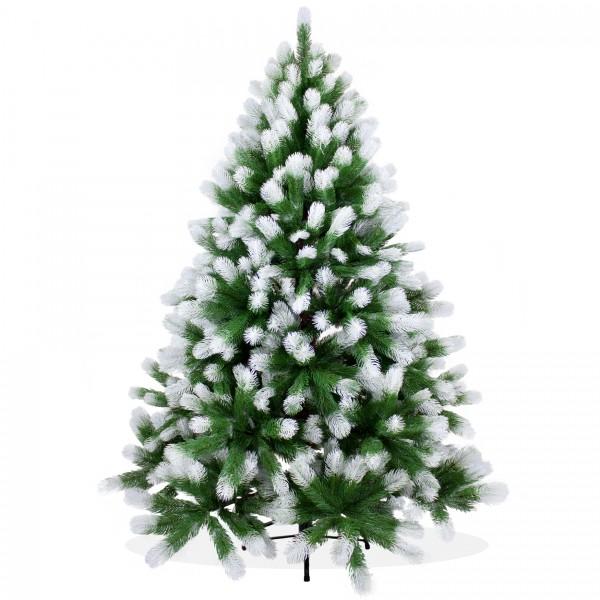 Künstlicher Weihnachtsbaum 150cm PE Spritzguss beschneiter Premium Tannenbaum Douglasie, Christbaum