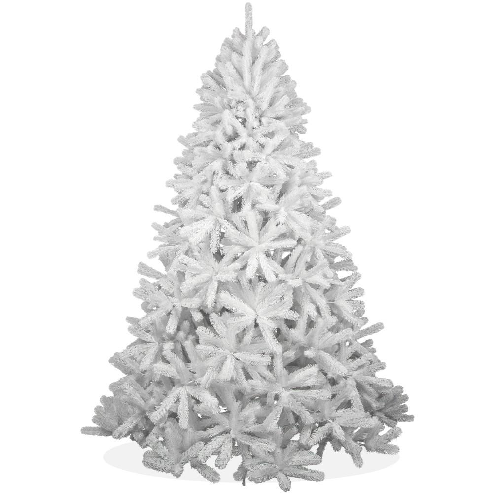 k nstlicher weihnachtsbaum wei spritzguss 240cm. Black Bedroom Furniture Sets. Home Design Ideas