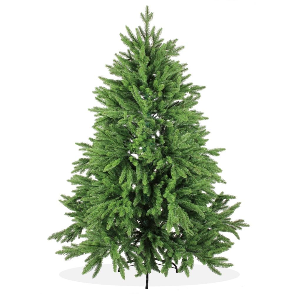 k nstlicher weihnachtsbaum spritzguss 150cm gr n nordmanntanne deluxe. Black Bedroom Furniture Sets. Home Design Ideas