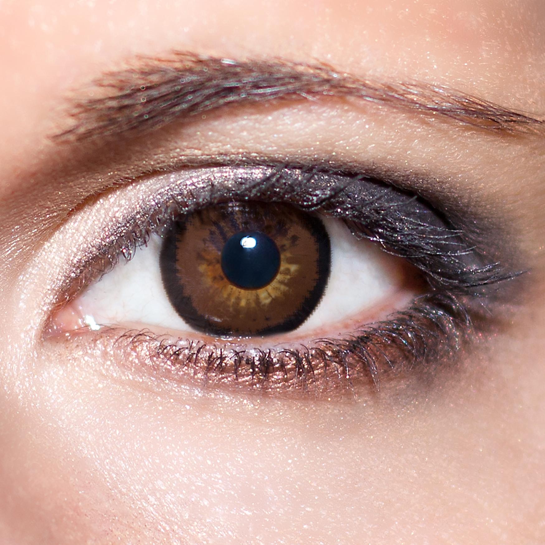 laest technology Sportschuhe großartiges Aussehen Braune große Kontaktlinsen 15mm farbige dunkelbraune Linsen Big Eyes Augen  KwikSibs,auch mit Stärken