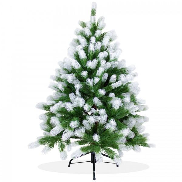 k nstlicher weihnachtsbaum 120cm pe spritzguss beschneiter premium tannenbaum douglasie. Black Bedroom Furniture Sets. Home Design Ideas