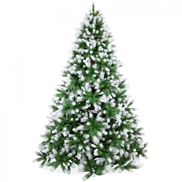 Künstlicher Weihnachtsbaum 240cm PE Spritzguss beschneiter Premium Tannenbaum Douglasie, Christbaum