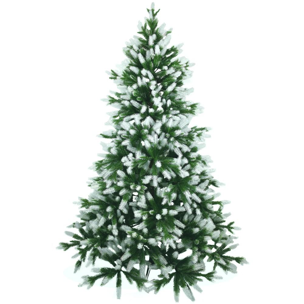 k nstlicher weihnachtsbaum angeschneit spritzguss 180cm nordmanntanne. Black Bedroom Furniture Sets. Home Design Ideas