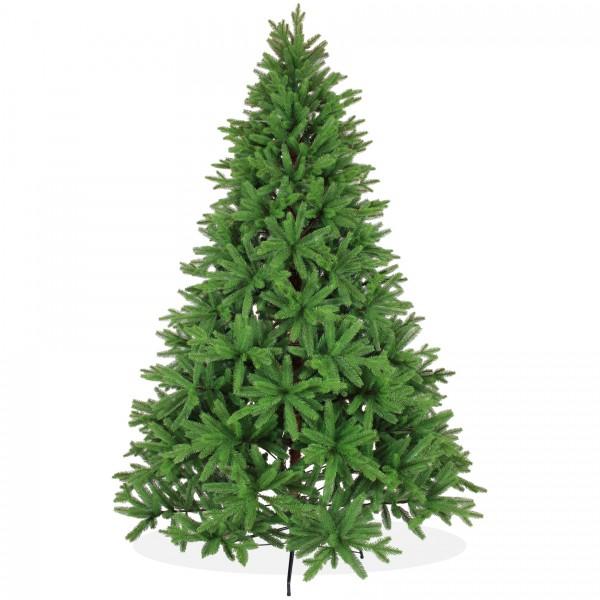 Künstlicher Weihnachtsbaum 240cm PE Spritzguss, grüner Premium Tannenbaum Nordmanntanne, Christbaum