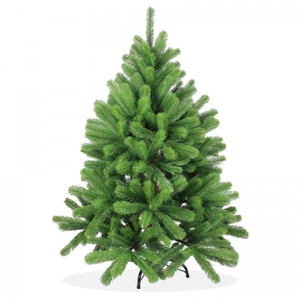 Künstlicher Weihnachtsbaum Wie Echt.Künstlicher Weihnachtsbaum 120cm Pe Spritzguss Grüner Premium Tannenbaum Douglasie Christbaum
