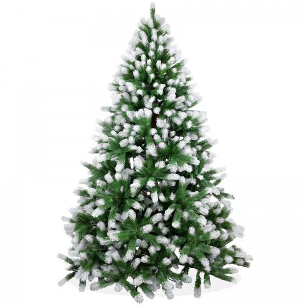 k nstlicher weihnachtsbaum 210cm pe spritzguss beschneiter premium tannenbaum douglasie. Black Bedroom Furniture Sets. Home Design Ideas