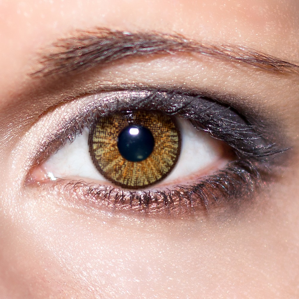braune kontaktlinsen farbige hellbraune 3 monatslinsen. Black Bedroom Furniture Sets. Home Design Ideas