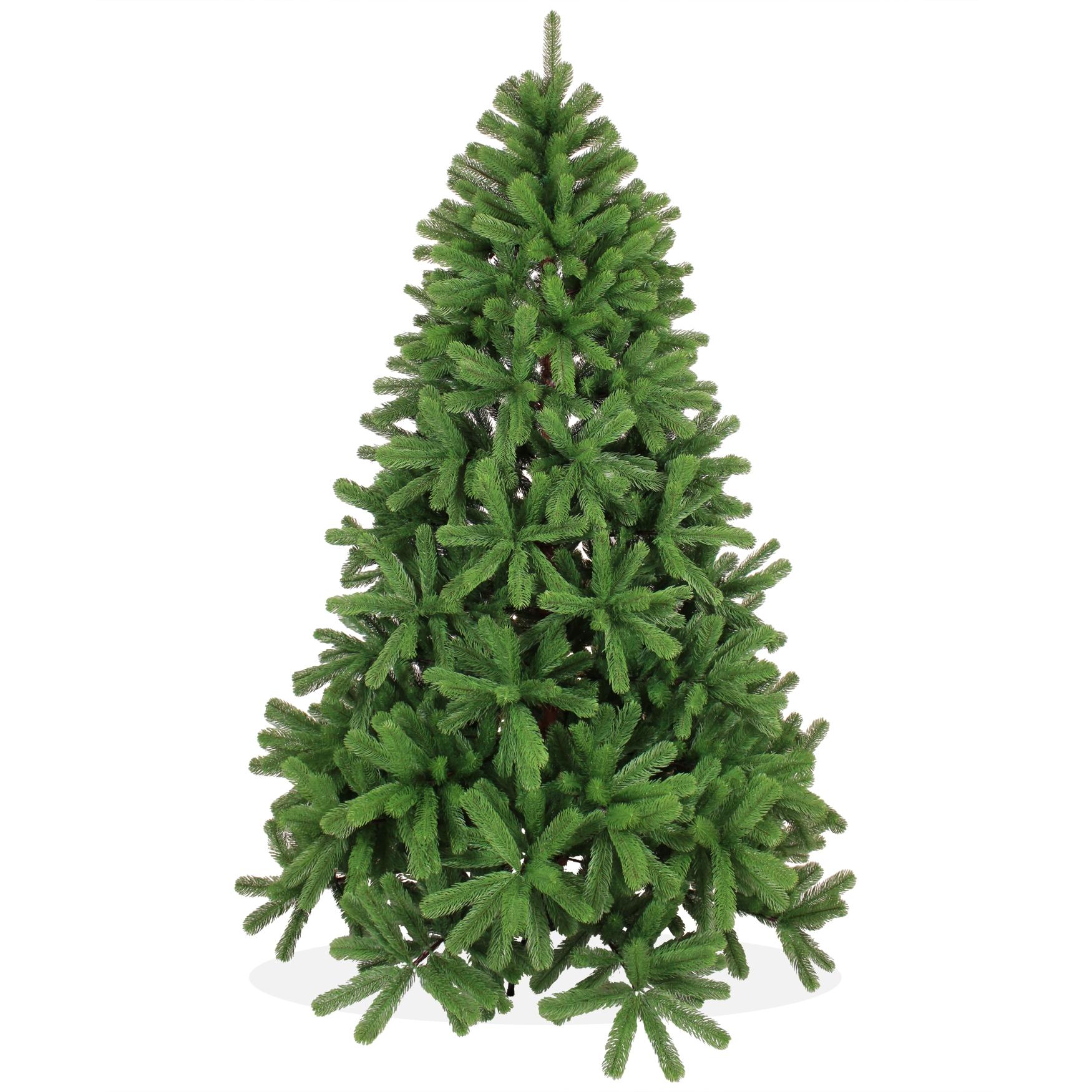 k nstlicher weihnachtsbaum 210cm pe spritzguss gr ner premium tannenbaum douglasie christbaum. Black Bedroom Furniture Sets. Home Design Ideas