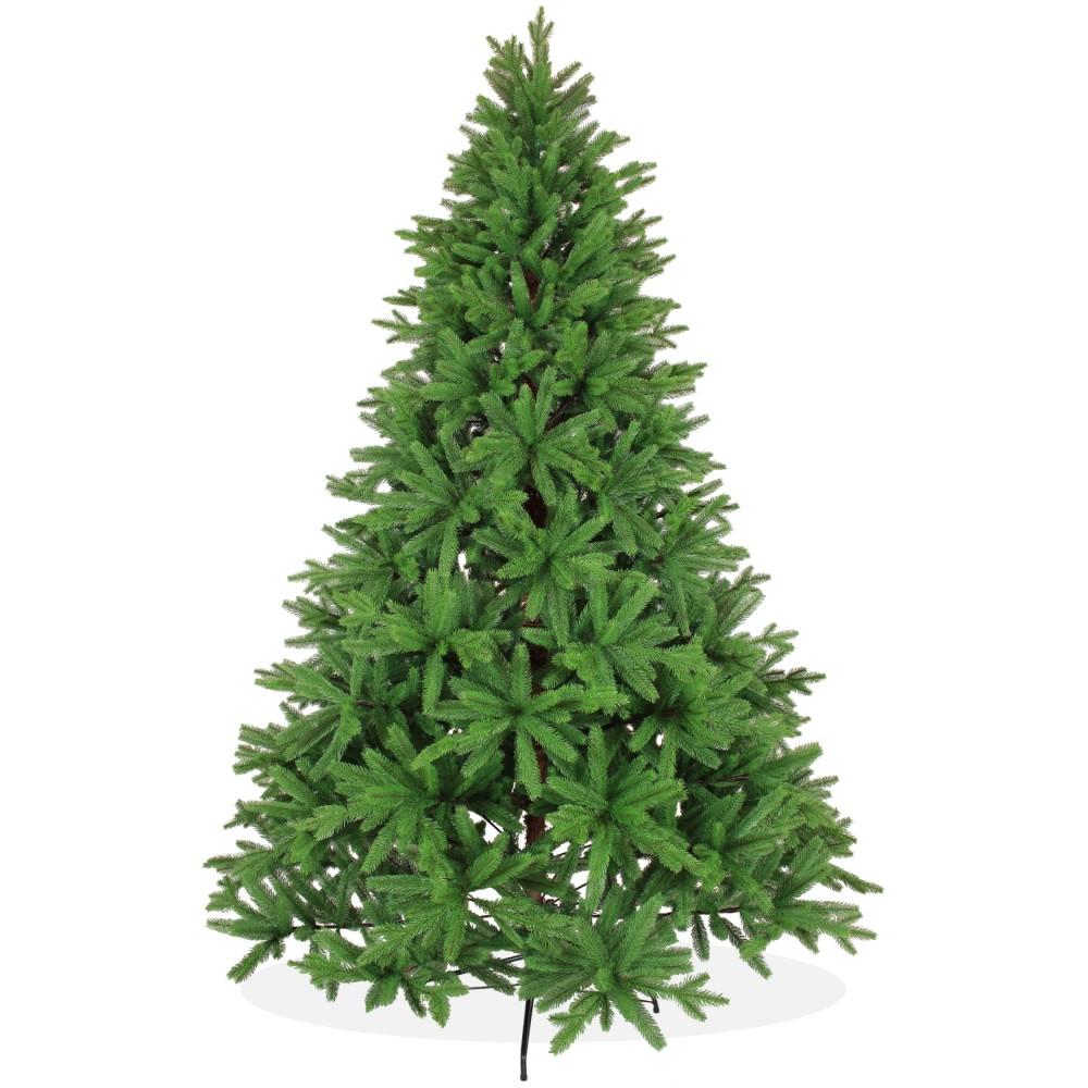 k nstlicher weihnachtsbaum spritzguss 240cm gr n nordmanntanne. Black Bedroom Furniture Sets. Home Design Ideas