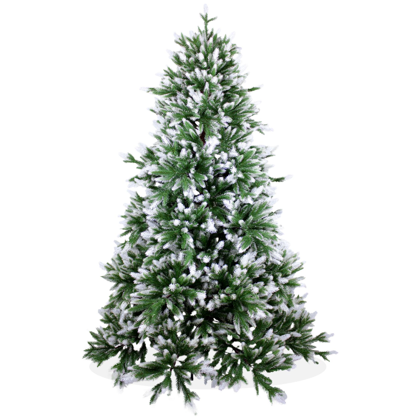 k nstlicher weihnachtsbaum 180cm deluxe pe spritzguss beschneiter tannenbaum nordmanntanne. Black Bedroom Furniture Sets. Home Design Ideas