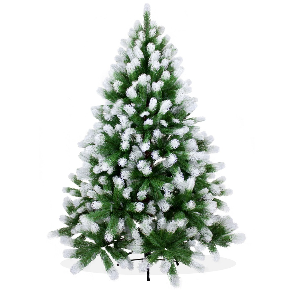 k nstlicher weihnachtsbaum angeschneit spritzguss. Black Bedroom Furniture Sets. Home Design Ideas