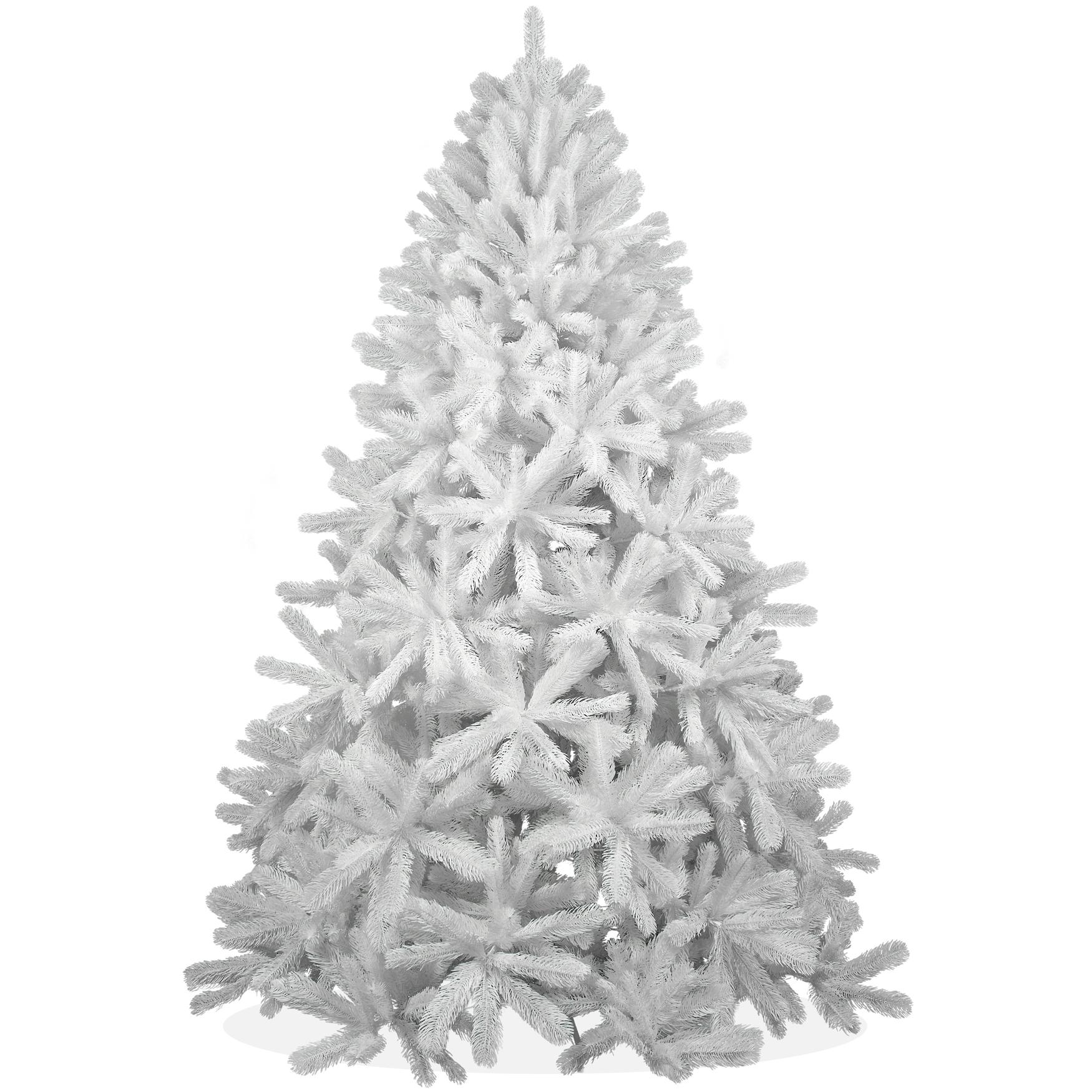 k nstlicher weihnachtsbaum 210cm pe spritzguss schneewei er premium tannenbaum douglasie. Black Bedroom Furniture Sets. Home Design Ideas