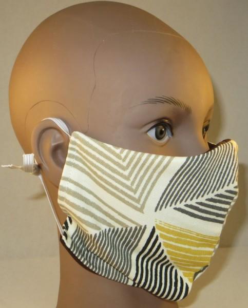 Community Maske, Größe M, Maske aus Stoff, Behelfsmaske in verschiedenen Designs