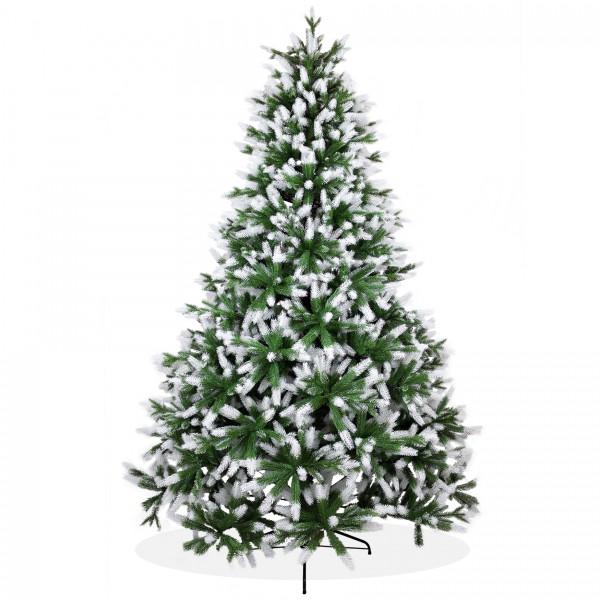 k nstlicher weihnachtsbaum 240cm pe spritzguss beschneiter. Black Bedroom Furniture Sets. Home Design Ideas