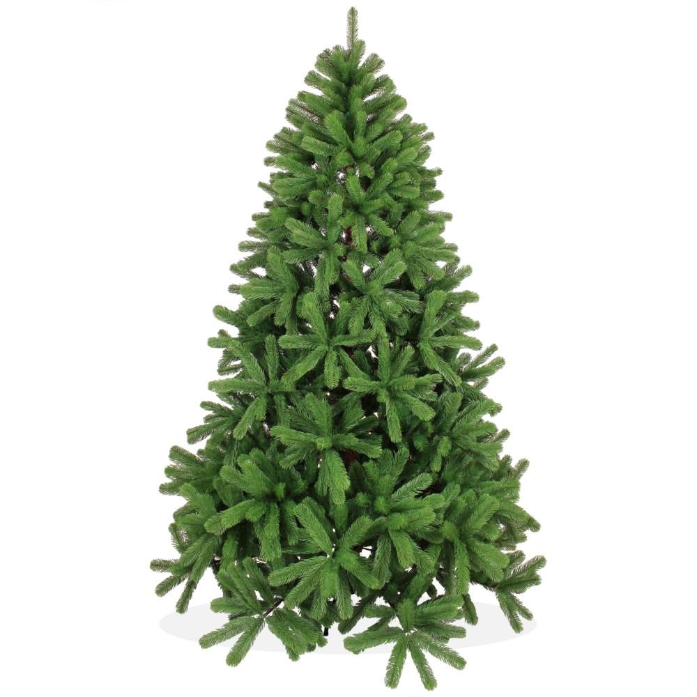 k nstlicher weihnachtsbaum spritzguss 210cm gr n douglasie. Black Bedroom Furniture Sets. Home Design Ideas