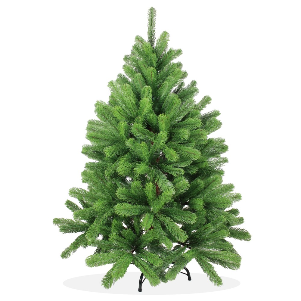 k nstlicher weihnachtsbaum spritzguss 120cm gr n douglasie. Black Bedroom Furniture Sets. Home Design Ideas