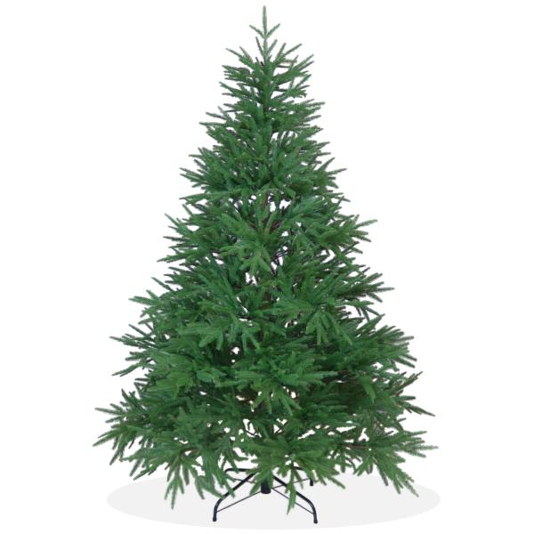 Künstlicher Weihnachtsbaum Nordmanntanne DeLuxe PE Spritzguss, grüner Tannenbaum, Christbaum