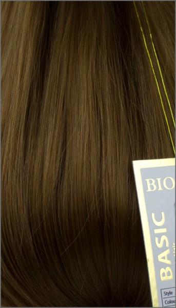 Clip-in Haar Extensions mit Echthaar, #27, Honigbraun, BASIC von BIONORA, 43/53/63cm, 70/80/90Gr.